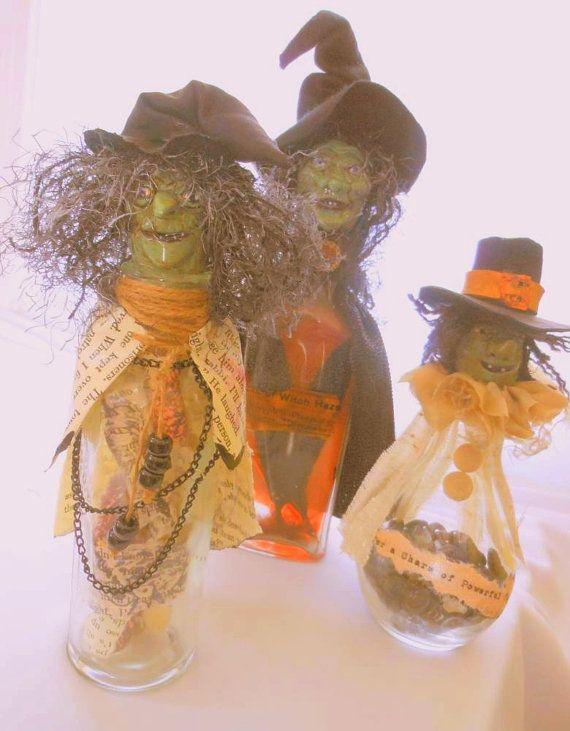 118 best witch bottle images on pinterest witch bottles for Halloween medicine bottles