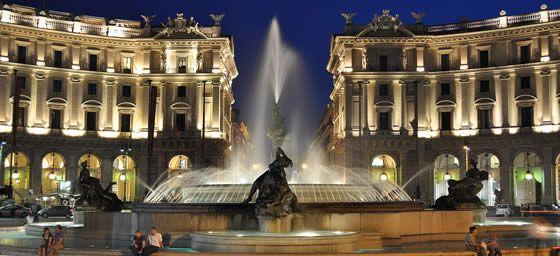 Rome, Piazza della Repubblica