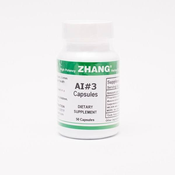 AI 3 is an immune suppressive treatment that reduces the symptoms of muscle aches, joint pain, fibromyalgia, skin rashes, allergies, vasculitis, severe Herxheimer reactions, Raynaud's, Sjogren's and autoimmune antibody production.