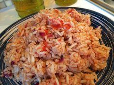 Basisrecept voor heerlijke Griekse tomaten-rijst (klassieker) | Wessalicious