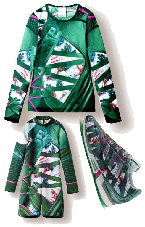 Mary Katrantzou x Adidas Originals Collection #marykatrantzou   #adidasoriginals   #fashion   http://www.bliqx.net/mary-katrantzou-x-adidas-originals-collection/