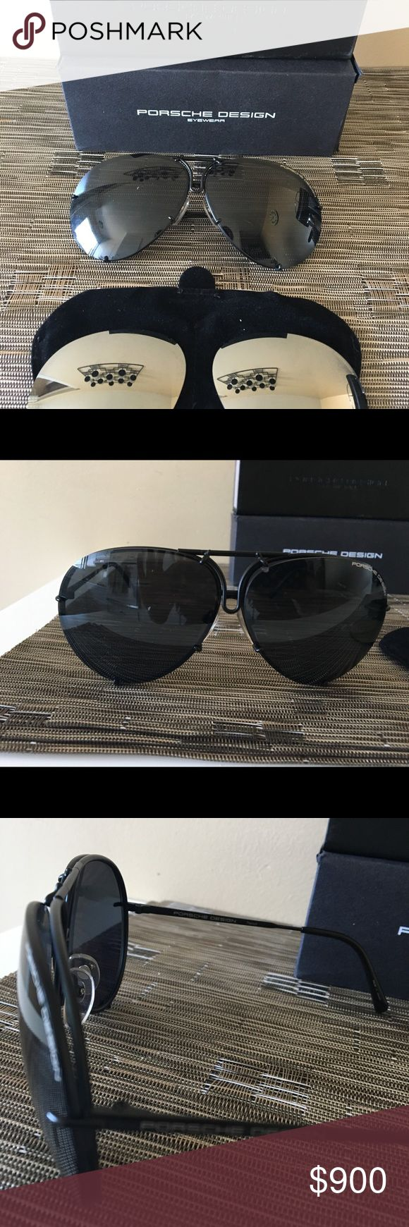 Porsche design eyewear Almost brand new, wear couple times , too big to my face, Accessories Glasses