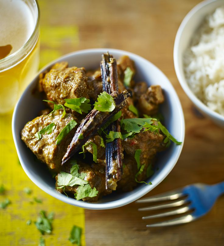 Take on the takeaway with Anjum Anand's recipe for the ultimate lamb rogan josh.