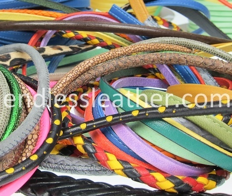 Find our huge selection of quality leather laces online and get inspired!