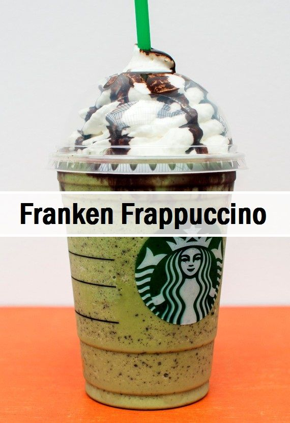 Have you tried the Franken Frappuccino yet?