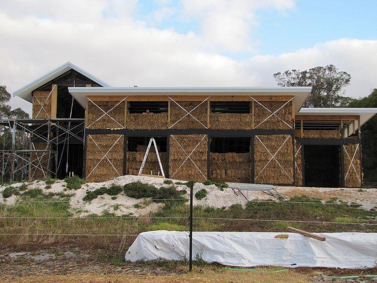 North Face of House - Strawbale House Build in Redmond Western Australia | Flickr - Photo Sharing!