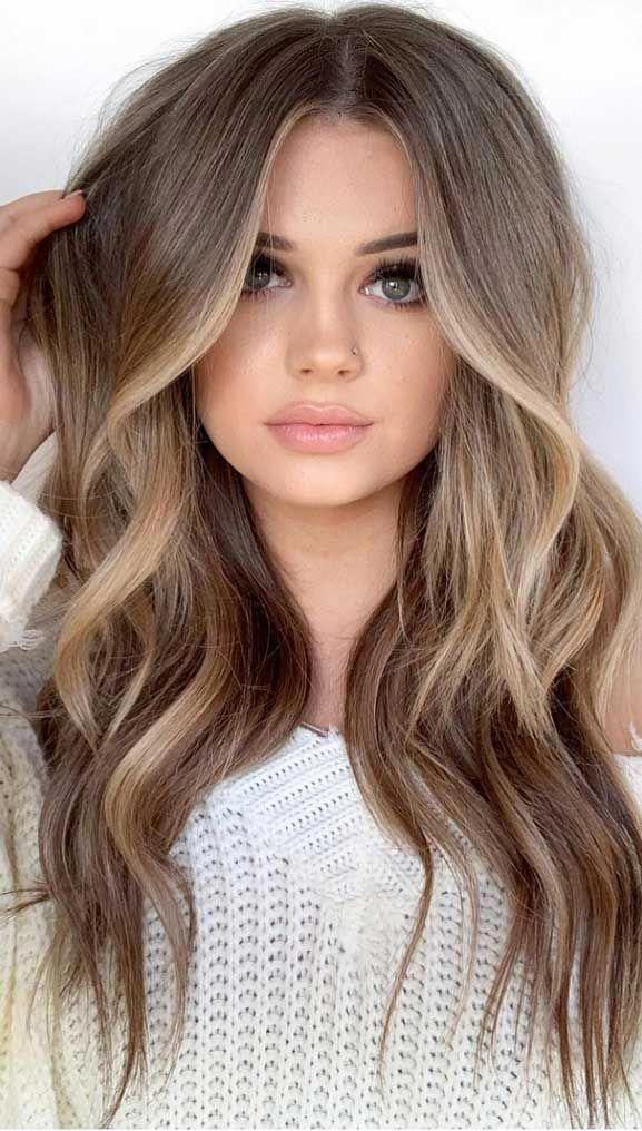 Best Hair Color Trends 2020 Page 12 Hair And Beauty Eye Makeup Ideas To Try Nail Art Design Ideas Brownhair In 2020 Cool Brown Hair Honey Brown Hair Honey Hair