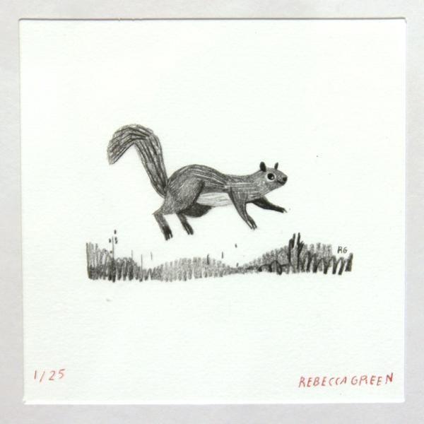 Rebecca Green - Jumping Squirrel - #6