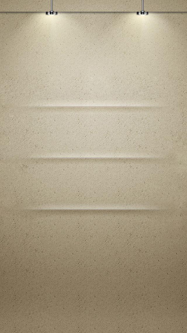 Shelf Lights iPhone5 Wallpaper (640x1136)