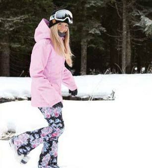 SUCH a cute snowboarding jacket & snow pants!!!