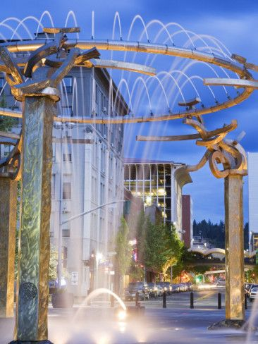 Riverfront Park Fountain, Spokane Washington