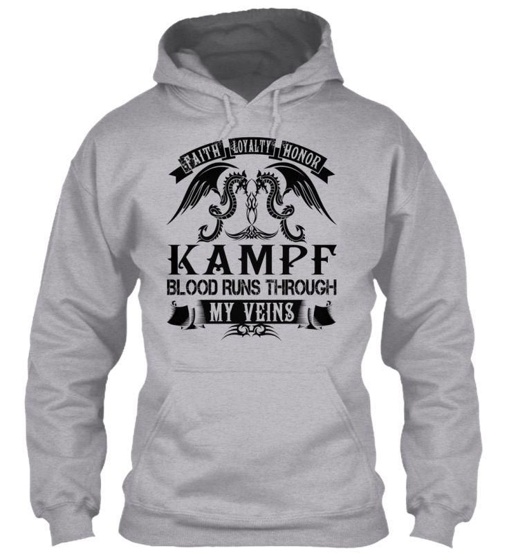 KAMPF - My Veins Name Shirts #Kampf