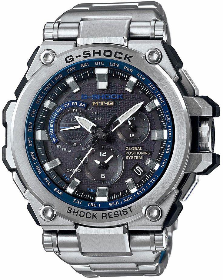 The best of metal and resin: CASIO G-SHOCK MTG GPS. Unmatched toughness. Essential functions. Advanced technology.  #CASIO #GSHOCK  #KhaValeri  www.pinterest.com/KhaValeri/    kha_amz_CASgsho1507_v7