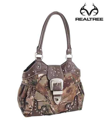#NEW #RealtreeAp #Camo Tote #Bags with With Studs And Metal Buckel And Pocket $24.99  #Realtreecamo