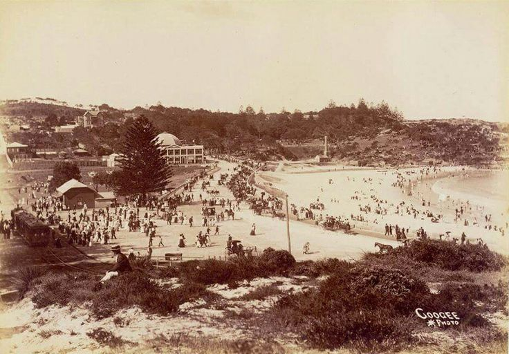 Coogee in southeastern Sydney in the 1890s.