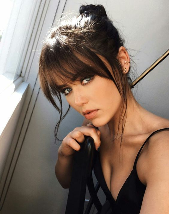 50+ Bangs Hairstyle Ideas