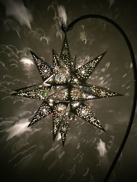 A Very Large Tin Star Lantern Handcrafted In Mexico Lets Out An Lamps Lanterns Candle Holders 2018 Pinterest Lante