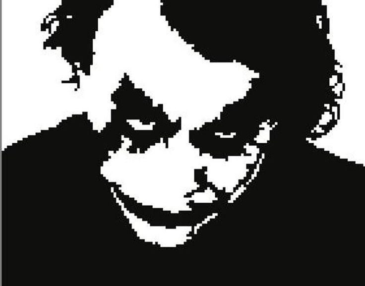 Joker (Batman) Graph / Chart | Craftsy