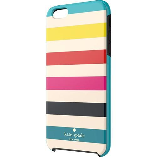 sports shoes 48c9b 28d41 kate spade new york - Candy Stripe Hybrid Hard Shell Case for Ap ...