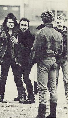U2 goof off