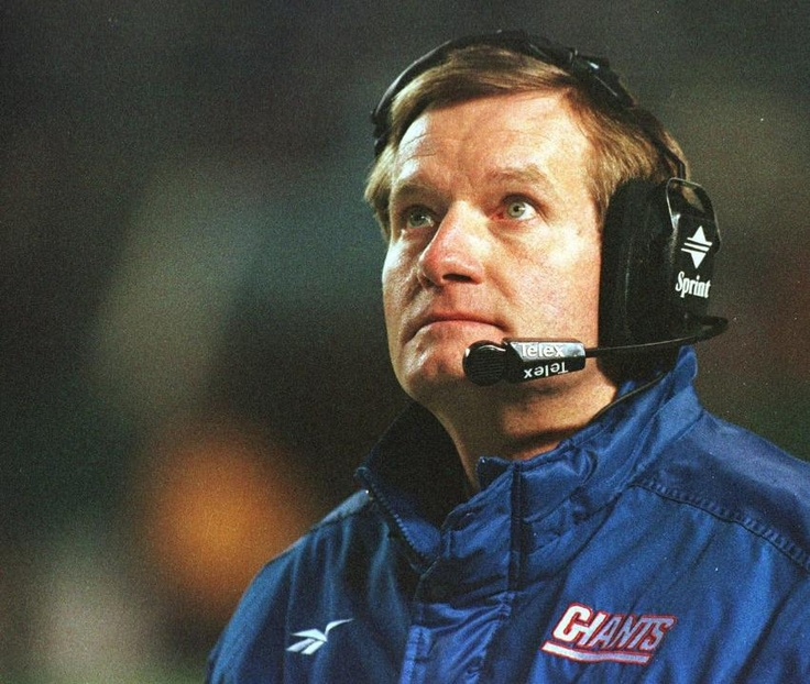 Why this dude can't get another HC gig in NFL, I'll never know.     Jim Fassel, head coach from 1997-2003.