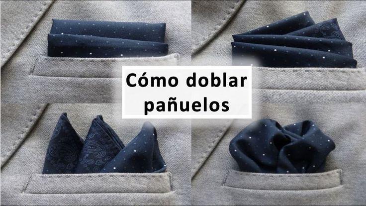 Doblar pañuelos de bolsillo es muy fácil