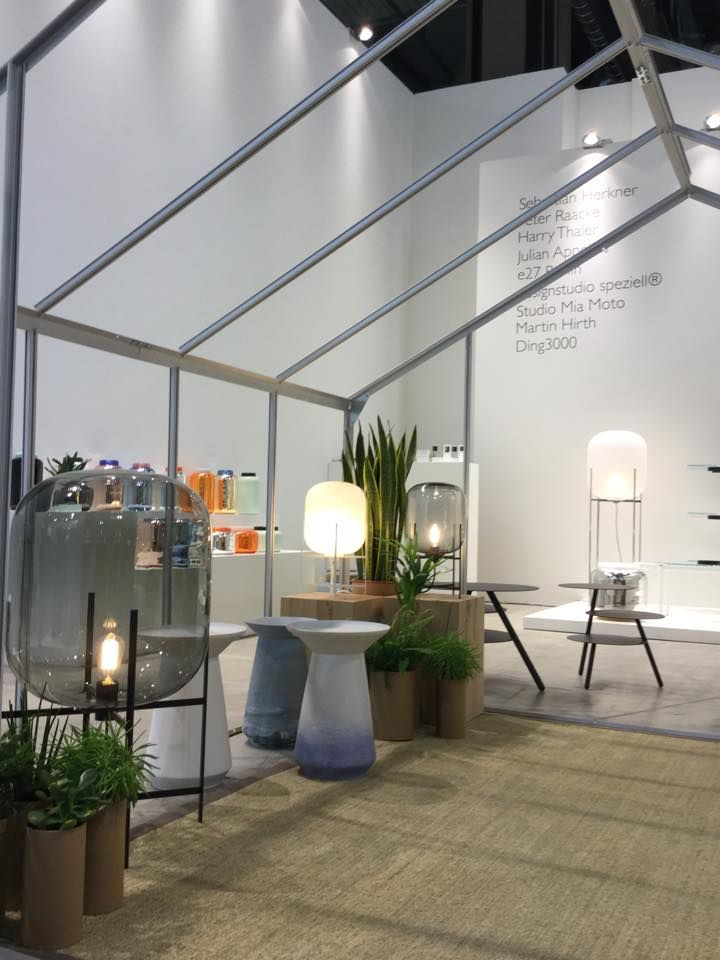 @aemexhibitions PULPO booth @ Salone del Mobile 2015.  Here is the very minimal and cool solution for PULPO at Salone del Mobile 2015. www.aemexhibitions.com