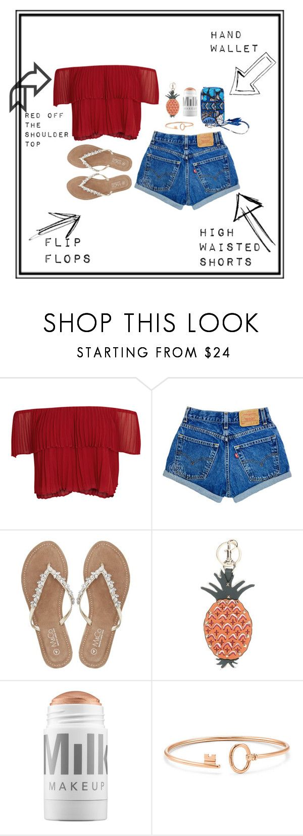 """""""summer must haves"""" by katniss1212 on Polyvore featuring Keepsake the Label, M&Co, Valentino, MILK MAKEUP and Vera Bradley"""