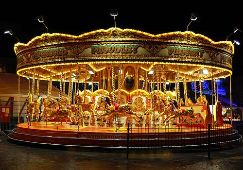 Carousel In Liverpool Brings Back A Feeling Of Nostalgia And Chirstmas Well