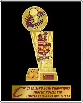 Picture of 2016 NBA Champions Puzzle Pin Set