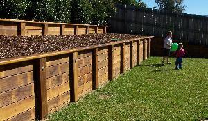 treated wood retaining wall   Retaining Walls from Wallmaster VIC & Wallmaster ACT