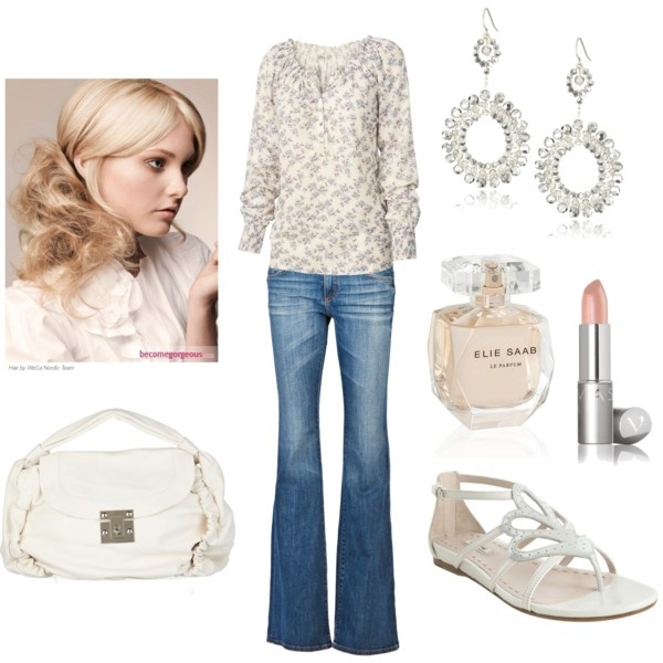 """I think it says: """"I look good without trying too hard"""" :)Summer Wear, Casual Chic, Street Style, Fashionista Stylin, Looks Casual, Palms Spring, Everyday Look, Flats Sandals, Dreams Closets"""