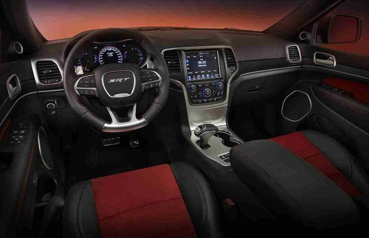 2016 Jeep Grand Cherokee SRT8 Hellcat-interior dash