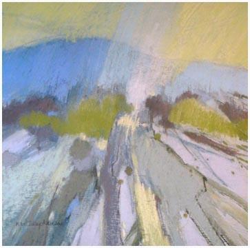 Norma Stephenson pastel