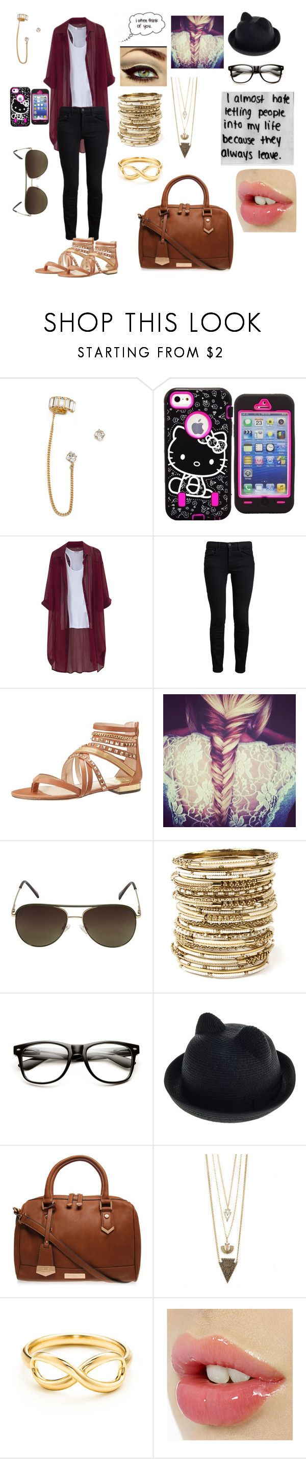 """""""Untitled #294"""" by oreokk22 ❤ liked on Polyvore featuring Auden, Hello Kitty, Chicnova Fashion, Proenza Schouler, Vince Camuto, Sanders, Amrita Singh, Carvela Kurt Geiger and Tiffany & Co."""