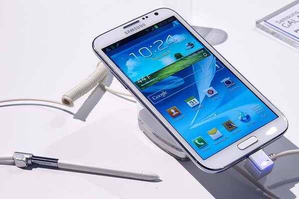 """Samsung's Galaxy Note II """"phablet""""."""