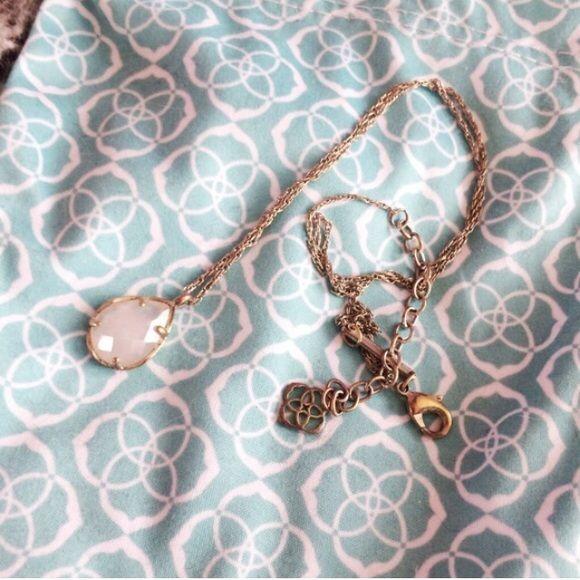 Kendra Scott Kiri Necklace in Quartz Kendra Scott necklace in Quartz. Purchased in September 2015 from Kendra Scott store in Charlotte Nc. No trades please! Kendra Scott Jewelry Necklaces