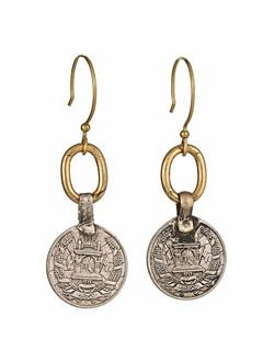 New at twisted silver. Beautiful: Ethnic Jewelry, Afghans Coins, Celebrity Jewelry, Twists Silver, Funky Jewelry, Caspian Ears, Caspian Earrings, Afghani Coins, Coins Earrings