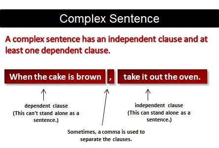 If clause sentence rules