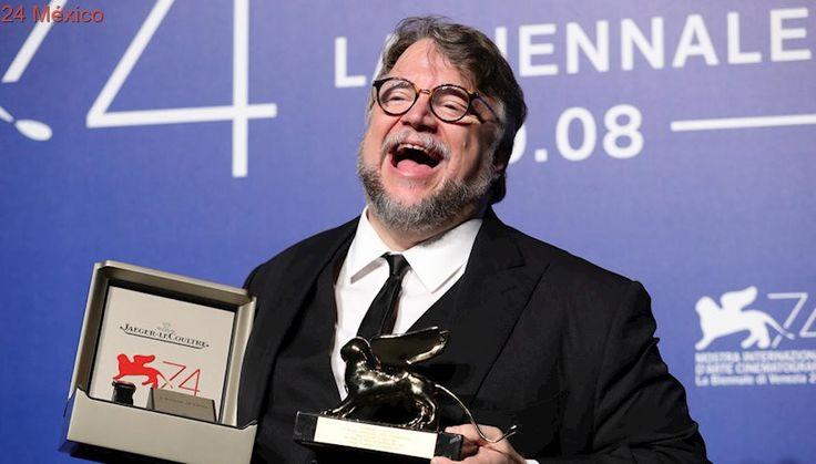 Guillermo del Toro gana León de Oro en Festival de Cine de Venecia