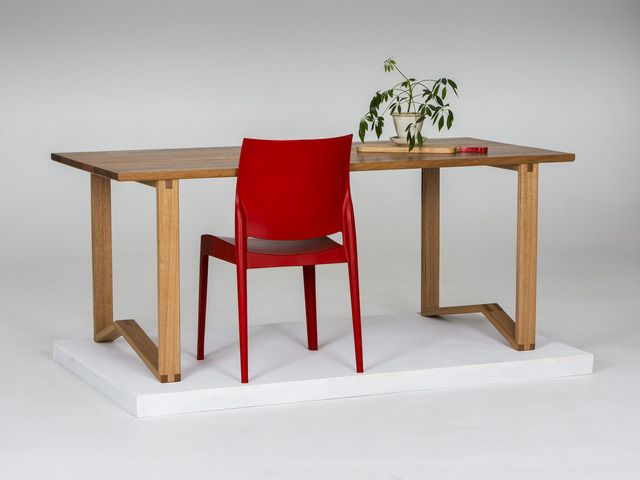 '1981' Table - Dining/Desk by GLENCROSS WOODWORKS - Dining Table, Desk, Custom Made, Australian Timber, Recycled Timber, Natural Timber, Hardwood, Melbourne, Modern Design