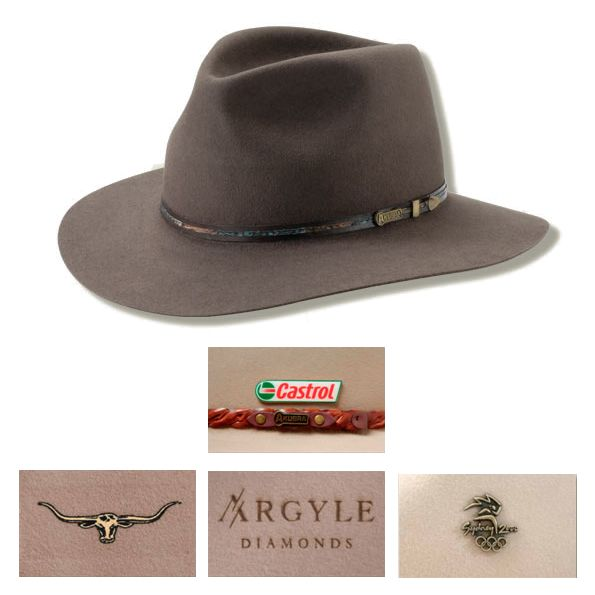 Personalised Leisure Time Akubra Hat is designed for casual wear but can still be worn formally. Vivid Promotions Australia is the best place engrave your logo on hats and promote your brand. #akubrahatsonline #promotionalakubrahats #akubrahatsforwomen #akubrahatsformen