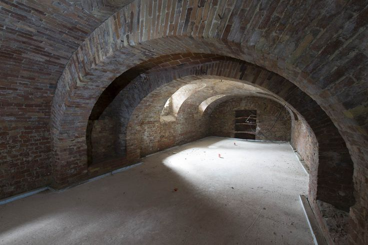 The future wine cellar in Sant'Anna dei Bricchetti