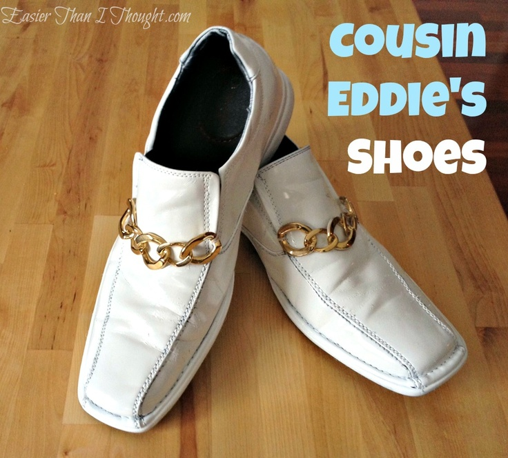 Easier Than I Thought: Cousin Eddie's Shoes from Christmas Vacation