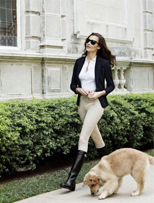 Just adore the ever classic equestrian look. So timeless & sophisticated.