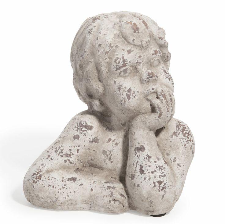 Statuette ange penseur Edeneal
