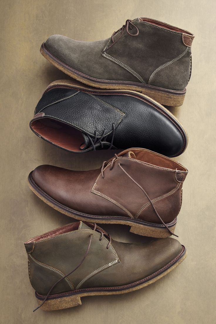 Crepe Diem: Any season, any reason. Chukka boots deliver serious workday-to-weekend style.