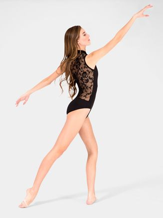 Adult Lace Back Tank Leotard by NATALIE