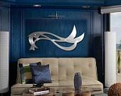 Metal Wall Art, Art, Decor, Abstract, contemporary, Modern, Sculpture