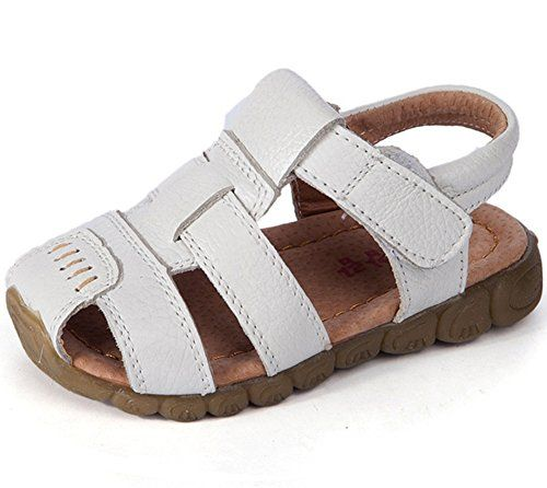 cool Femizee Boys Girls Closed Toe Casual Outdoor Sandal(Toddler/Little Kid/ Big